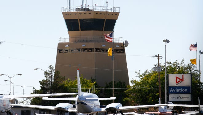 Four Corners Regional Airport is pictured on Friday. The airport has received a $1.1 million federal grant.