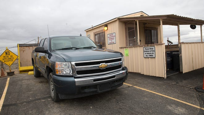The Upper Fruitland Transfer Station is one of three stations located on the Navajo Nation in San Juan County.