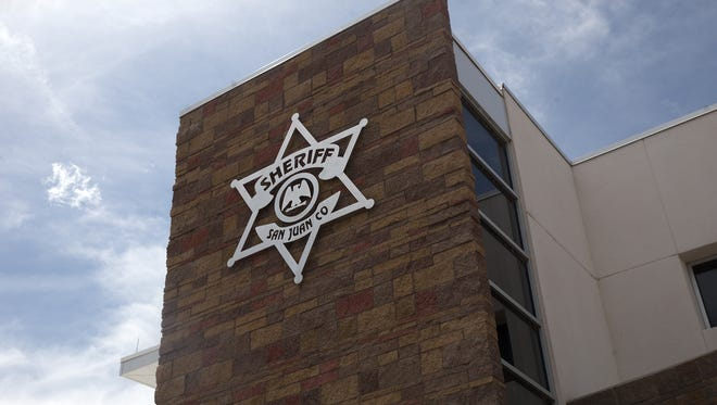 San Juan County Sheriff's Office building is pictured on April 12, 2017 in Aztec.