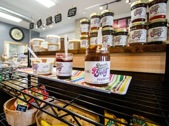 The Peanut Butter & Jelly Deli at 6125 W. Greenfield Ave. in West Allis offers delicious sandwiches along with serving peanut, almond and cashew butters ground daily and about 100 jams, jellies and spreads on a variety of breads, including gluten-free.