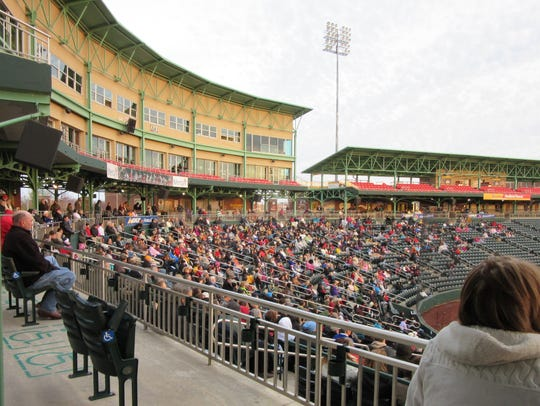 The gates at Hammons Field open at 6 a.m. Sunday for