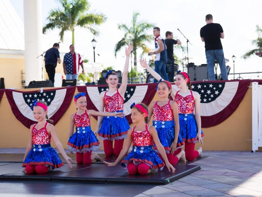 Freedomfest features performances by local youth.