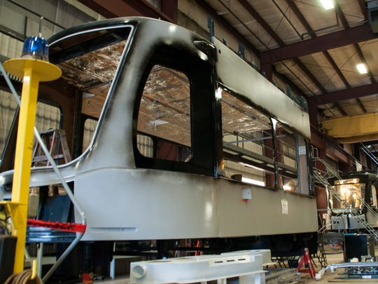 Brookville Equipment of Brookville, Pa., is to supply six streetcars for the line as well as spare parts and support services at a cost of $32 million Monday, June 13, 2016.