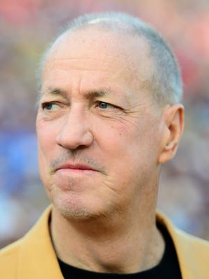 Jim Kelly, shown in 2014.