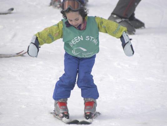 Kid ski school at Northstar