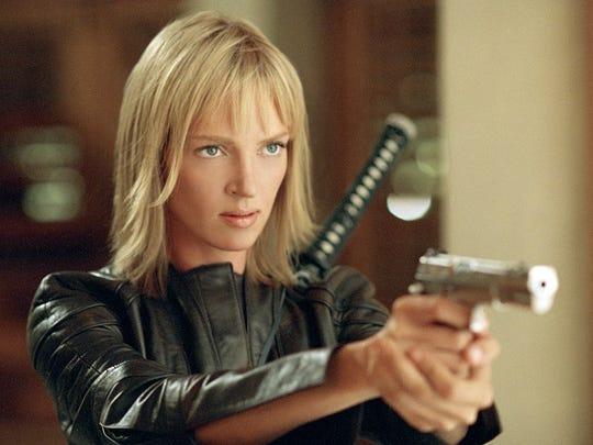 """Uma Thurman stars as 'The Bride' in the 2004 film """"Kill Bill Vol. 2."""""""