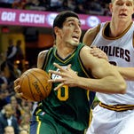 It will be hard for Enes Kanter to get moved from Utah.
