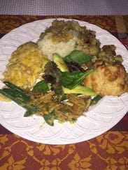 Piling on the vegan eats at the Benson home in Ringewood