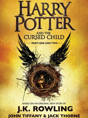 'Harry Potter and the Cursed Child Parts One and Two' by J.K. Rowling, John Tiffany and Jack Thorne
