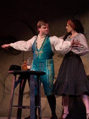 "Scott Purcell and Tascha Anderson star in the Tri-Cities Opera production of ""The Tragedy of Carmen."""