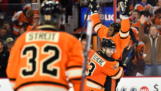 Last time the Penguins were in town, the Flyers clinched a playoff spot.