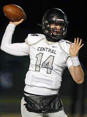 Judah Holtzclaw made third-team all-Ohio last season while leading Westerville Central to a 7-4 record.
