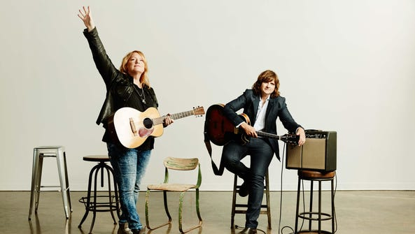 The Indigo Girls: Emily Saliers and Amy Ray