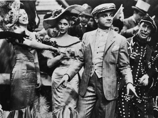 James Cagney in a scene from 'Yankee Doodle Dandy.'