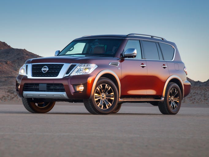 The all-new 2017 Nissan Armada full-size sport utility