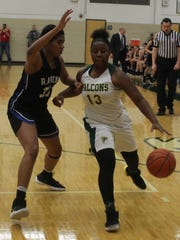 Senior guard Kayla Nelson (13) played a key role in