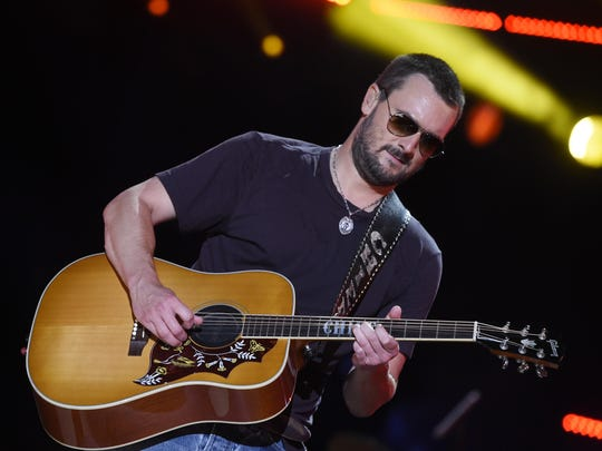 Eric Church plays U.S. Bank Arena on April 22. Tickets go on sale Friday.