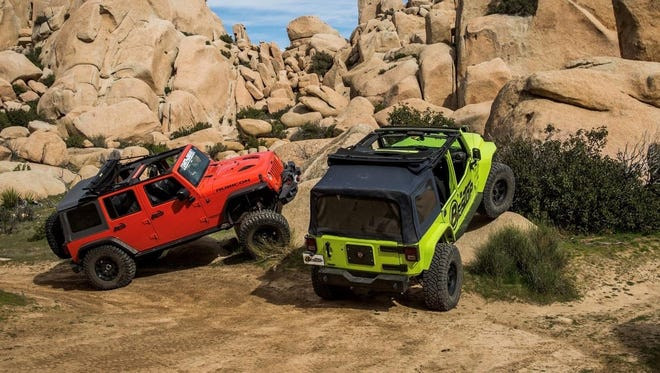 On top of roof systems for Jeeps, Bestop makes doors and windows, seats and seat covers.