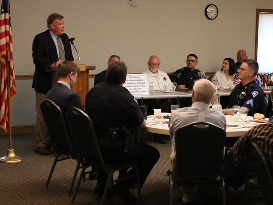 Ottawa County Common Pleas Court Judge Bruce Winters,