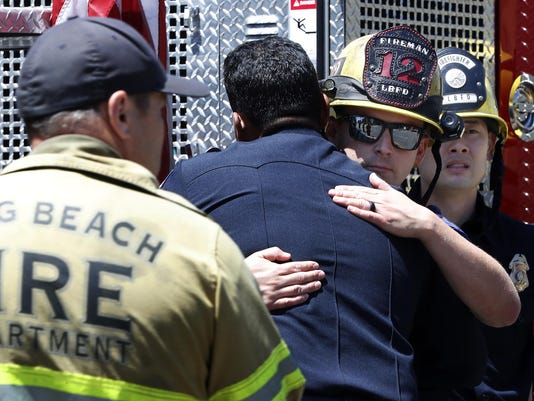 Long Beach firefighter killed, 1 wounded in shooting at senior care facility