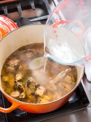This quick and easy chicken stock from America's Test