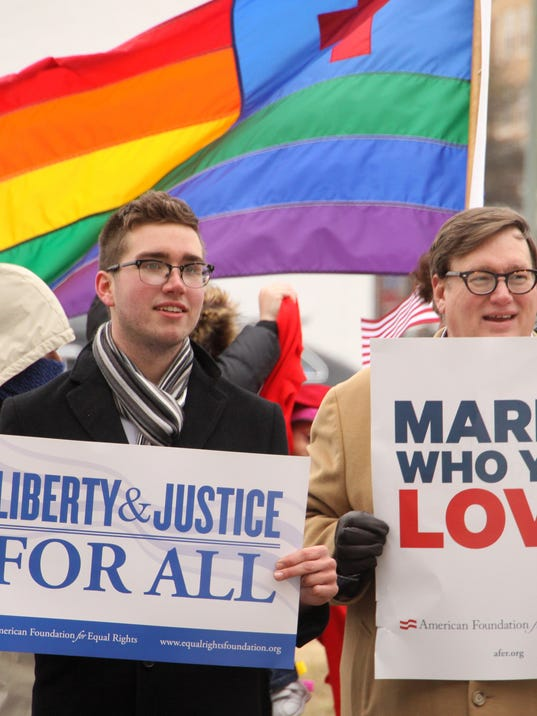 Virginia Attorney General Mark Herring Attends Oral Arguments In Federal Same-Sex Marriage Case
