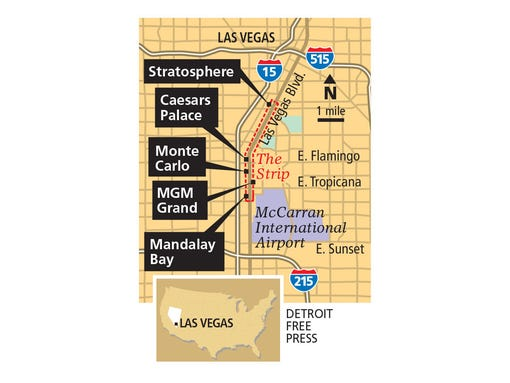 Las Vegas' secret hotels add mystique to the Strip
