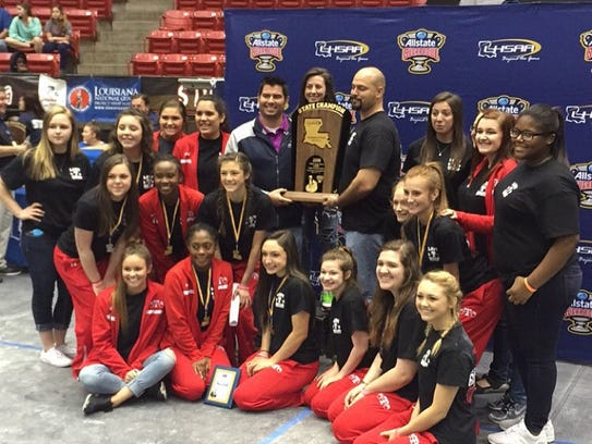 Tioga won the Division II girls' powerlifting title.