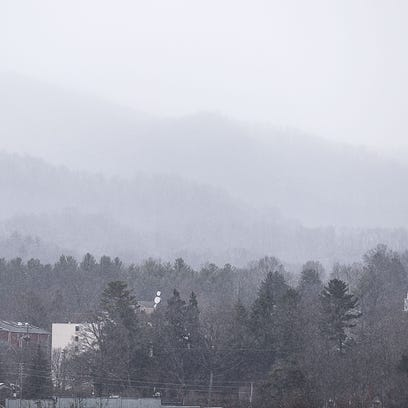 Some parts of the mountains got snow on Monday. More is expected Friday.