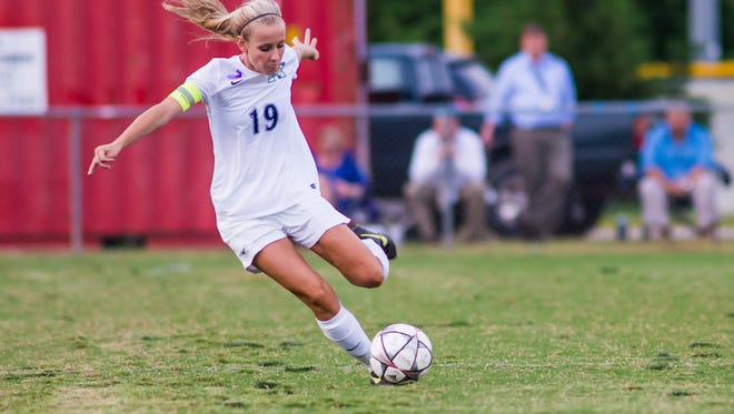 Emily Malone and the J.L. Mann Patriots will host Fort Mill in the Class AAAA Upper State final Monday night.