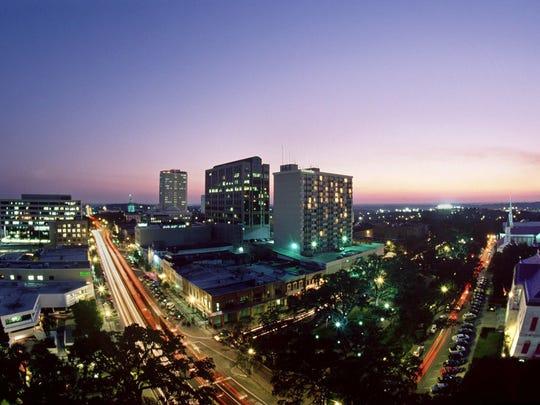 Tallahassee's skyline.