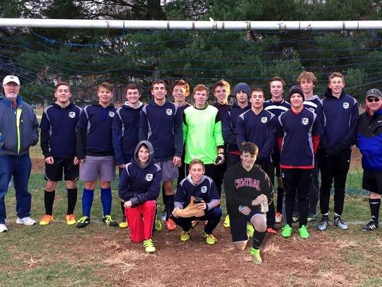 The Delaware Township Athletic Association U18 soccer