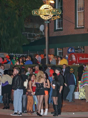 Large crowds at Trolley Square bars like Kelly's Logan House have caused the neighborhood's clubs to pull out of the 35th annual Halloween Loop on Oct. 31.