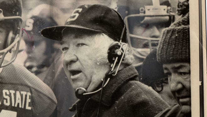 Former Michigan State coach Duffy Daugherty