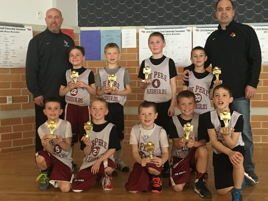 De Pere boys 2nd hoops