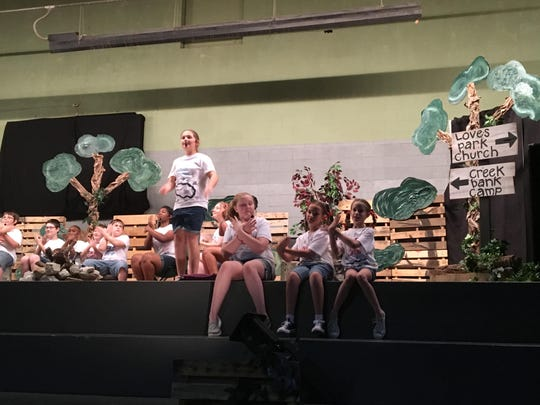 Students from Family Christian School performed in a dinner theater Friday night for parents and staff at FCS on Denmark-Jackson Road.