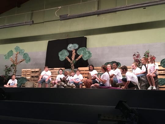 Family Christian School had a dinner theater program Friday at FCS for parents and students.