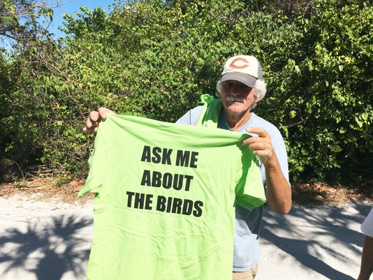 shorebird t shirt