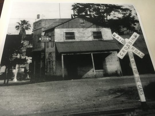 The Shasta Historical Society rallied in 2016 to save the former Bell Rooms transient building from demolition, shown in this archived photo.
