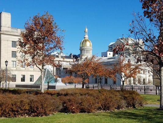 State House in Autumn