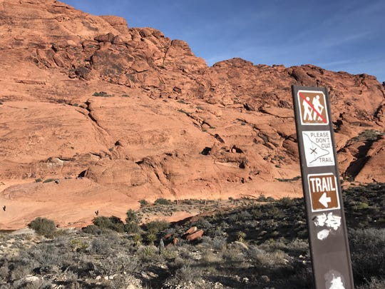 Red Rock is just 15 minutes from Las Vegas and a perfect day hike to get away from the hustle of the city.