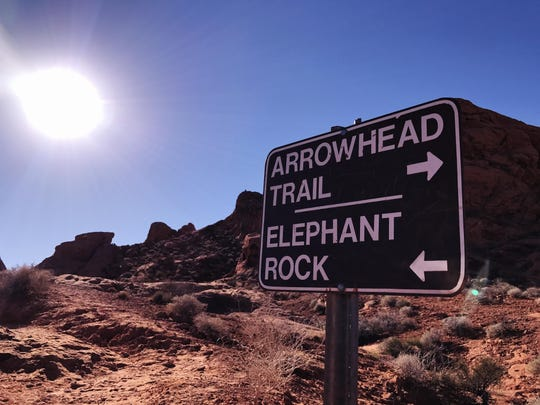 Valley of Fire State Park in Nevada is a perfect getaway for families who enjoy the outdoors.