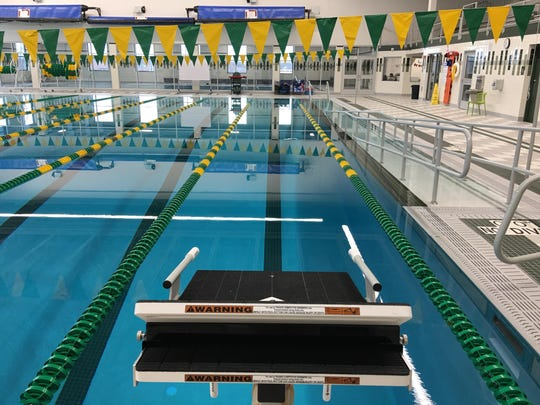 The Ashwaubenon Aquatic Center will host one of four Division 2 sectionals in February.