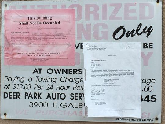 The Drake Motel has been declared uninhabitable.