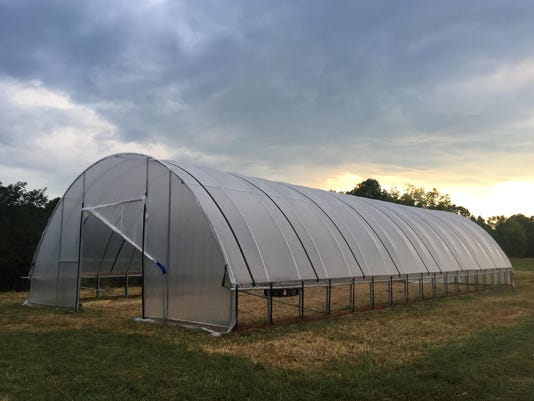 Valentine Family Farm Hoop House