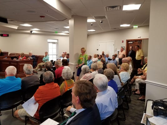 Estero residents speak against NCH expansion