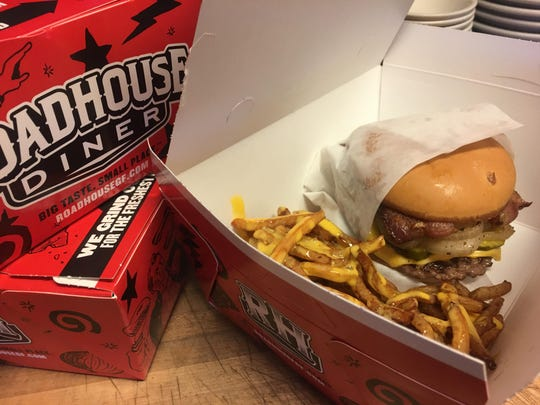 The Roadhouse Diner specializes in unqiue burgers and