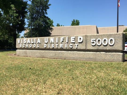 Visalia Unified School District district office.