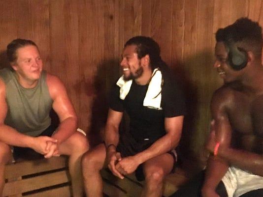 Sauna-conversation