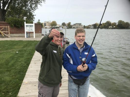 NHS fishing